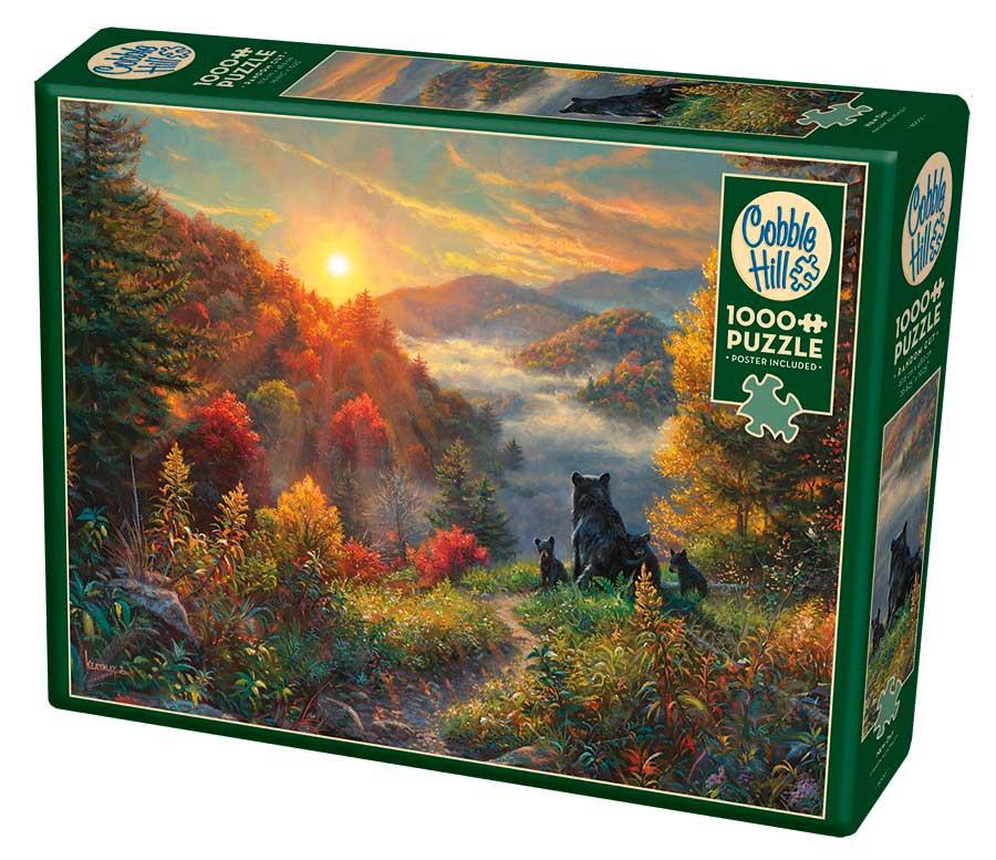 Puzzle Cobble Hill Nuevo Día de 1000 Piezas