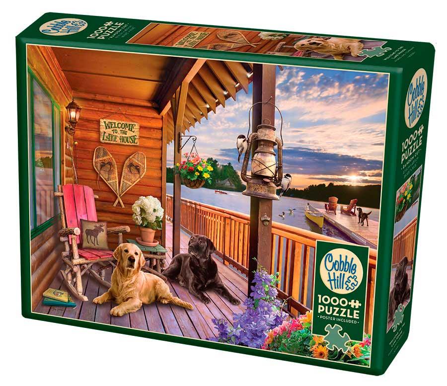 Puzzle Cobble Hill Bienvenido a la Casa del Lago de 1000 Piezas