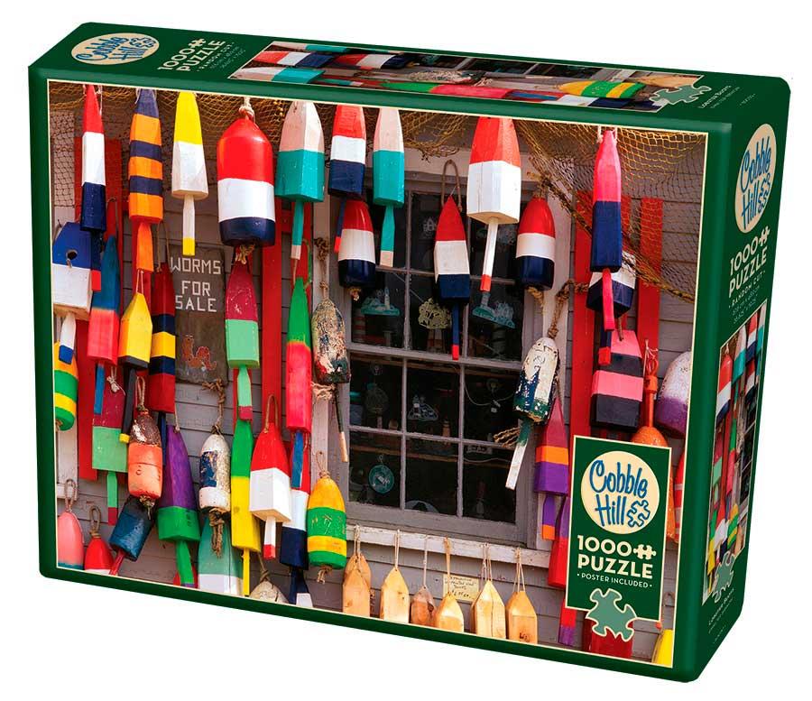 Puzzle Cobble Hill Boyas para Langostas de 1000 Piezas
