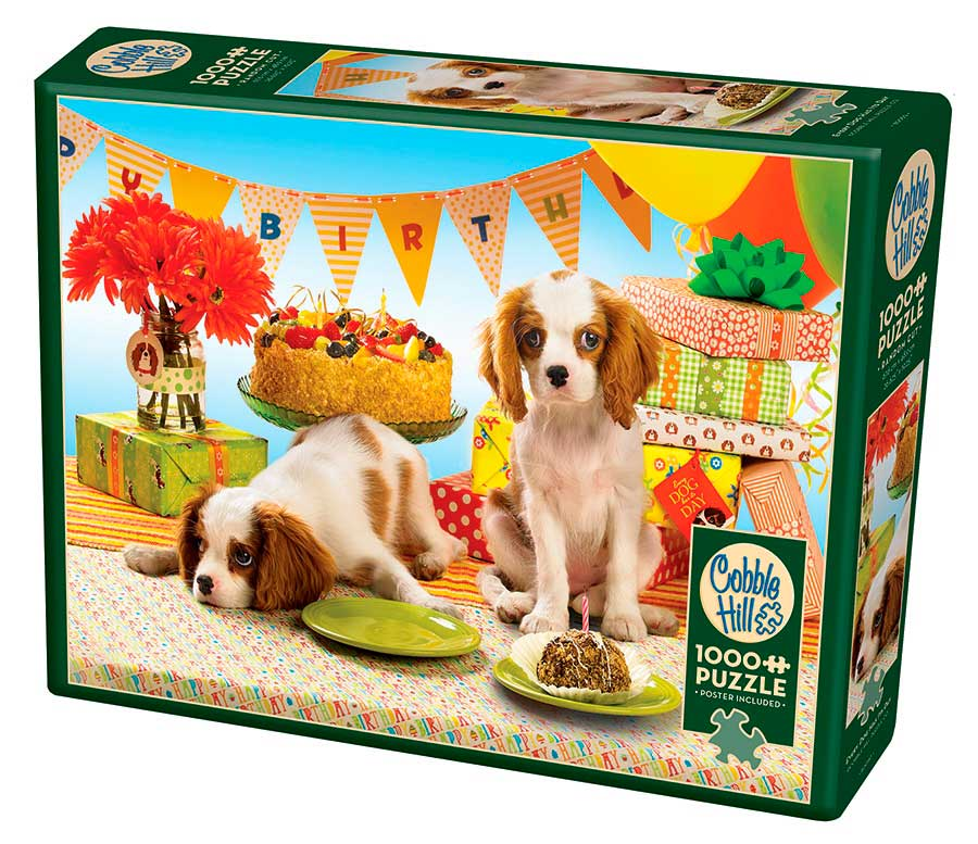 Puzzle Cobble Hill Cada Perro Tiene su Día de 1000 Piezas