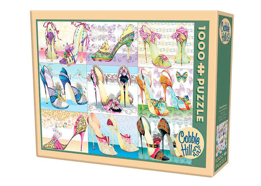 Puzzle Cobble Hill Caja de Zapatos de 1000 Piezas