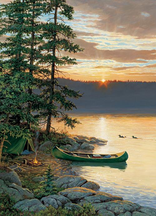 Comprar Puzzle Cobble Hill Canoa En El Lago De 1000 Piezas