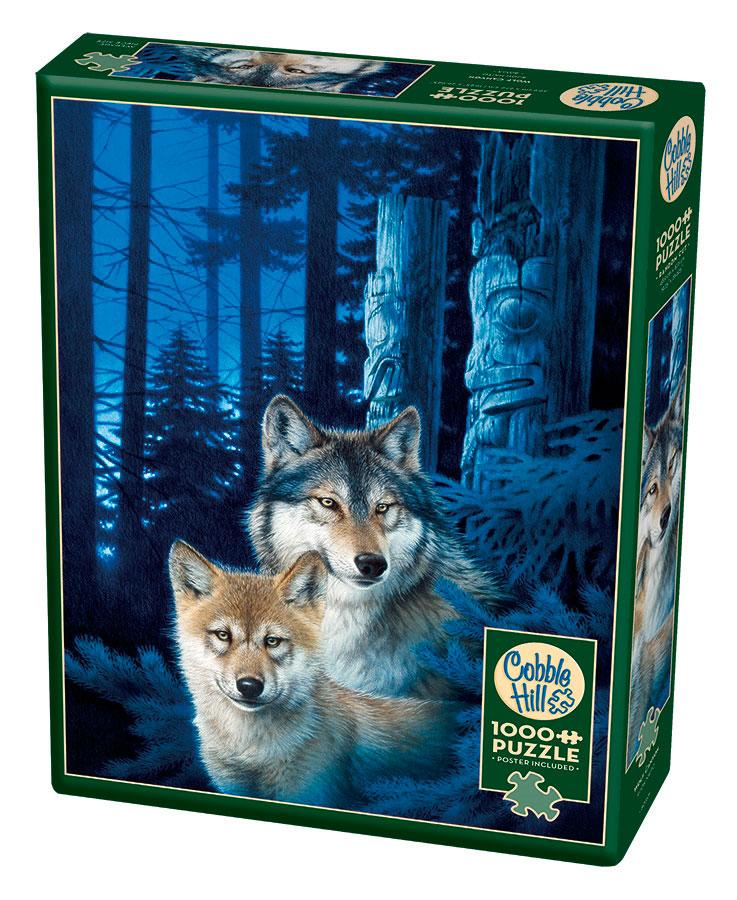 Puzzle Cobble Hill Cañón de los Lobos de 1000 Piezas