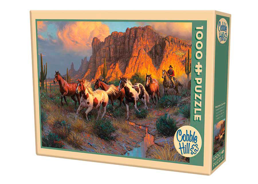 Puzzle Cobble Hill Cañón del Oeste de 1000 Piezas