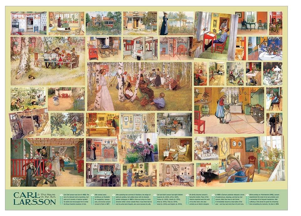 Puzzle Cobble Hill Carl Larsson de 1000 Piezas