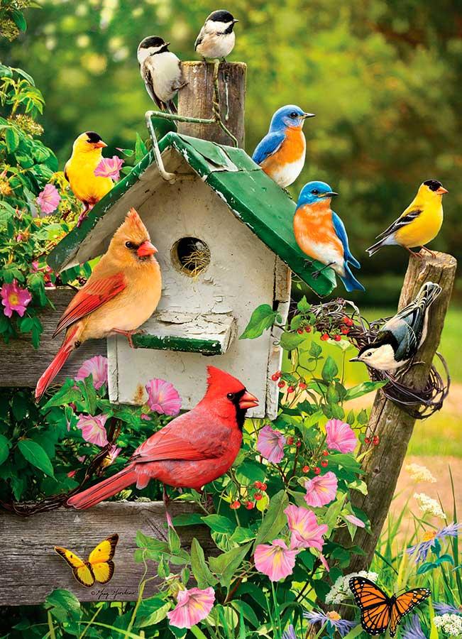Puzzle Cobble Hill Casa de Pájaros de Verano de 1000 Piezas