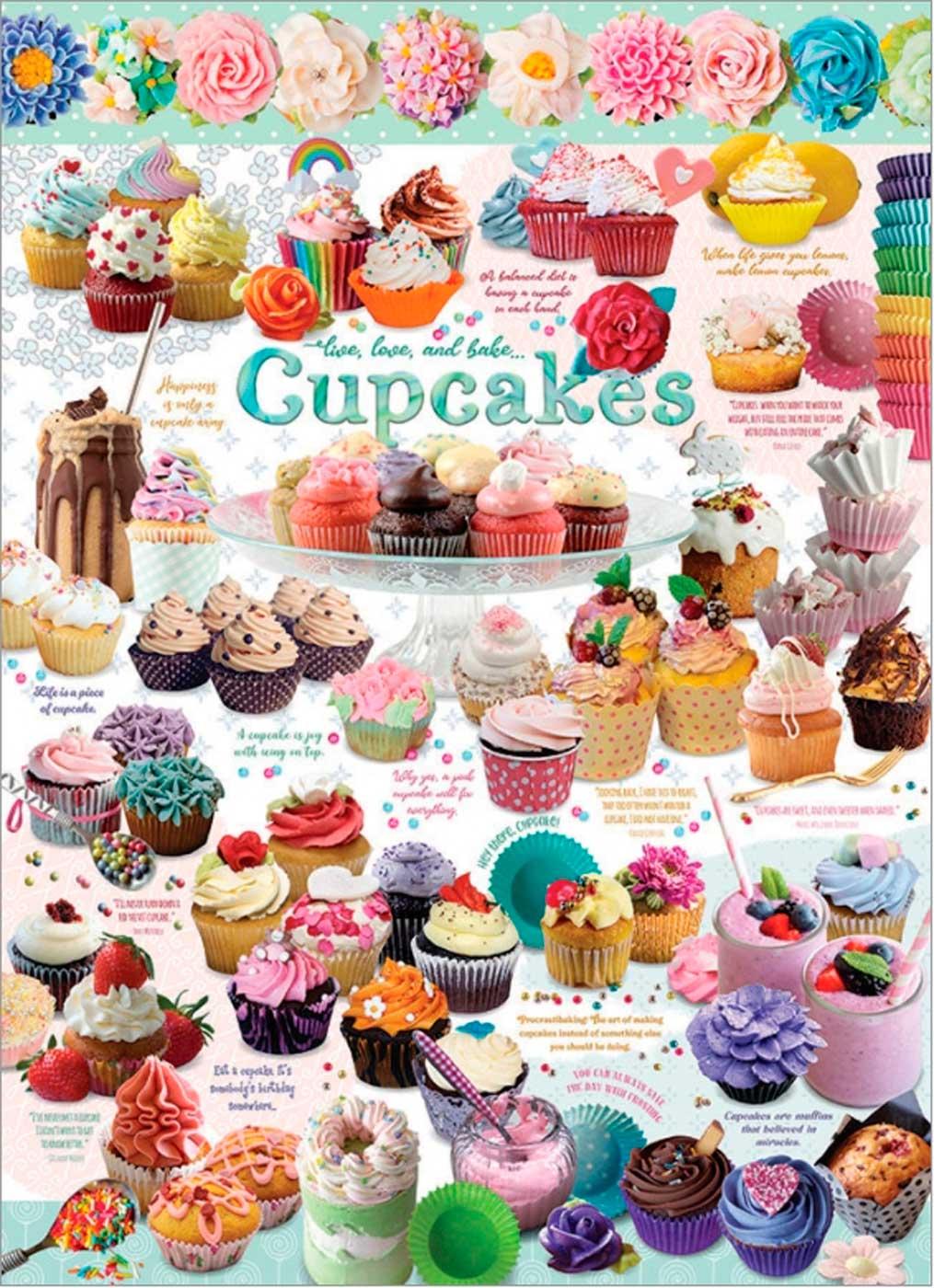 Puzzle Cobble Hill Cupcake Time de 1000 Piezas