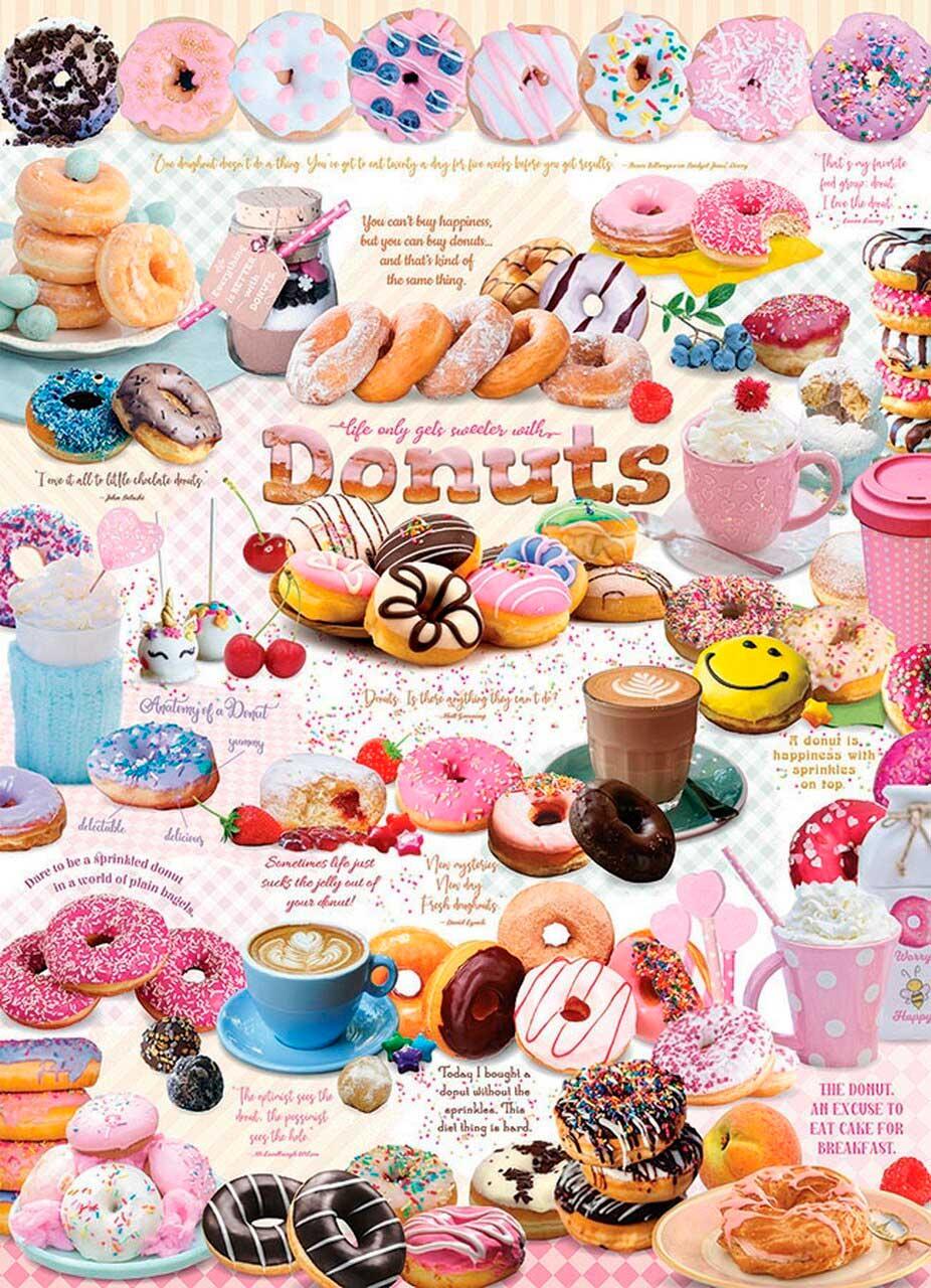 Puzzle Cobble Hill Donut Time de 1000 Piezas