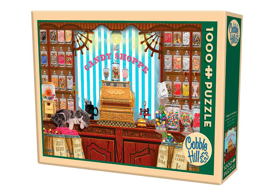 Puzzle Cobble Hill Dulces para Vender de 1000 Piezas