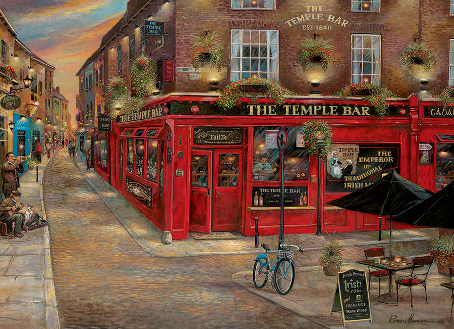 Puzzle Cobble Hill El Bar Irlandés de 1000 Piezas