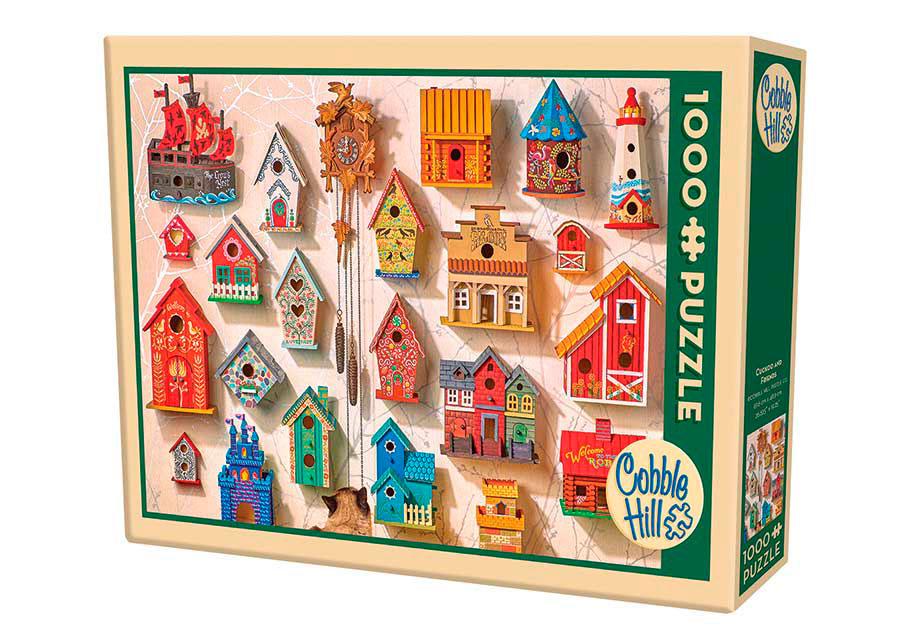 Puzzle Cobble Hill El Gato Cuco y sus Amigos de 1000 Piezas