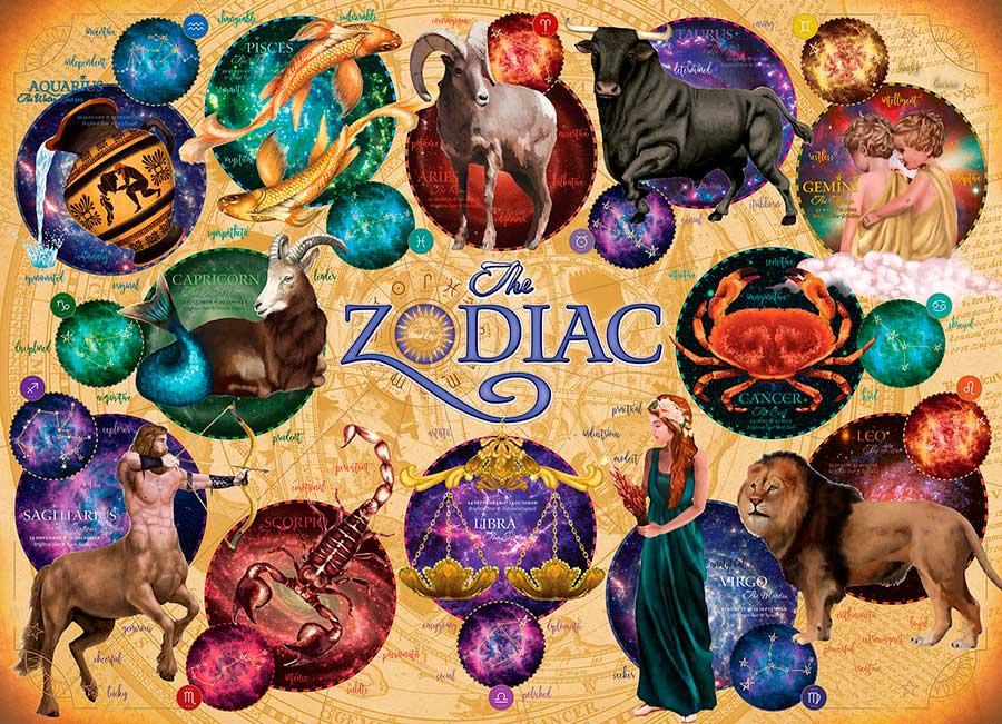 Puzzle Cobble Hill El Zodiaco de 1000 Piezas