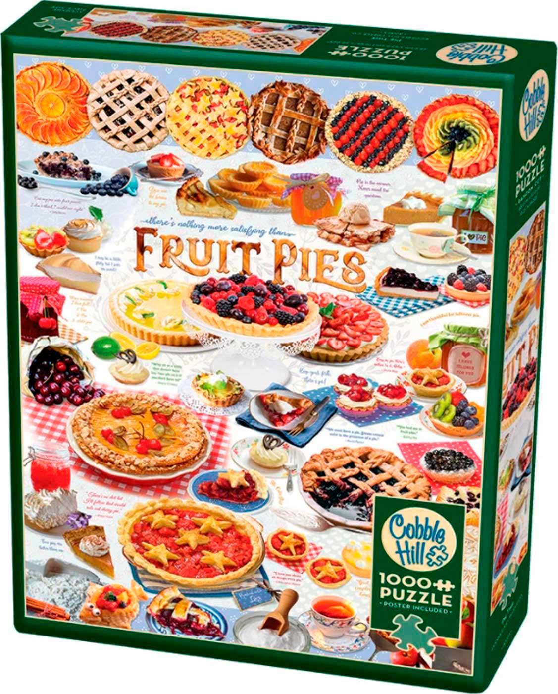 Puzzle Cobble Hill Fruit Pie Time de 1000 Piezas