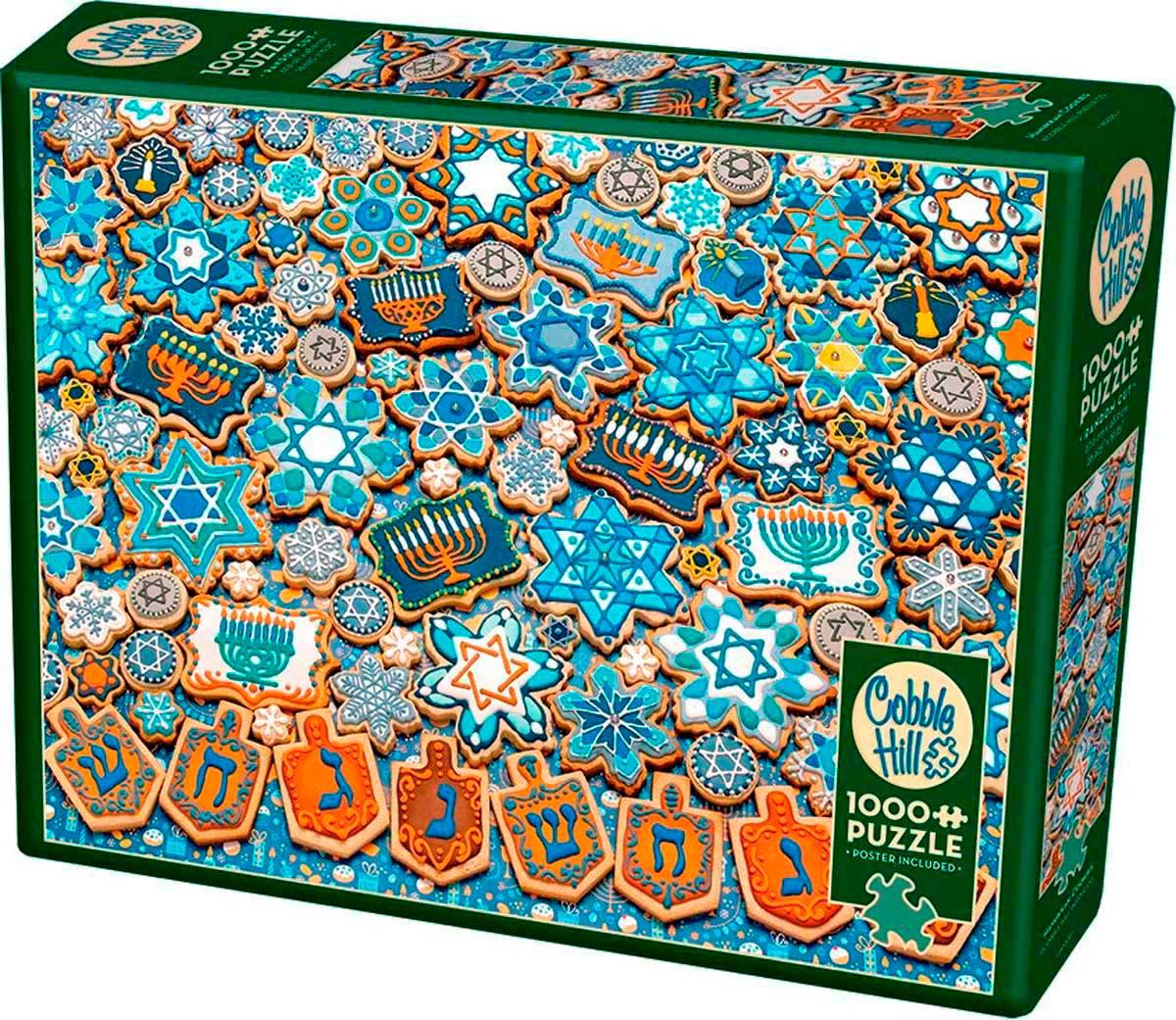 Puzzle Cobble Hill Galletas de Hanukkah de 1000 Piezas