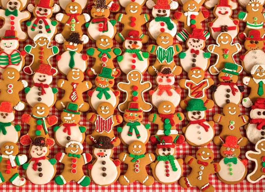 Puzzle Cobble Hill Galletas de Navidad de 1000 Piezas