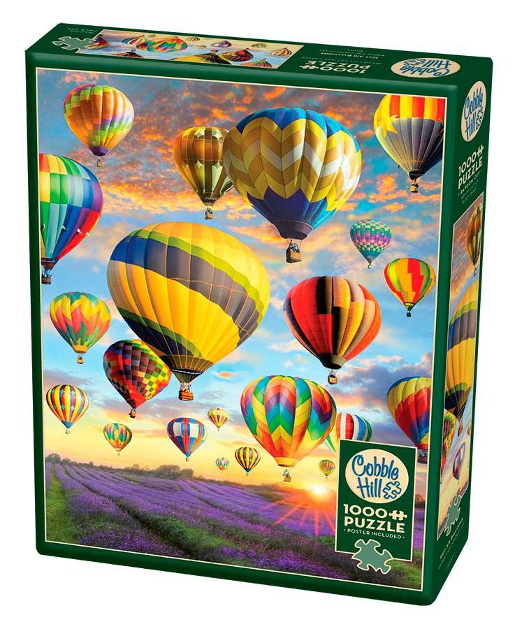 Puzzle Cobble Hill Globos de Aire Caliente de 1000 Piezas