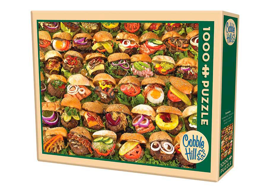Puzzle Cobble Hill Hamburguesas de 1000 Piezas