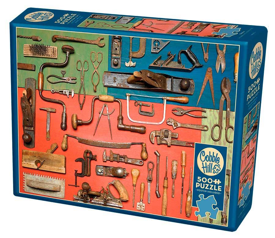 Puzzle Cobble Hill Herramientas de 500 Piezas