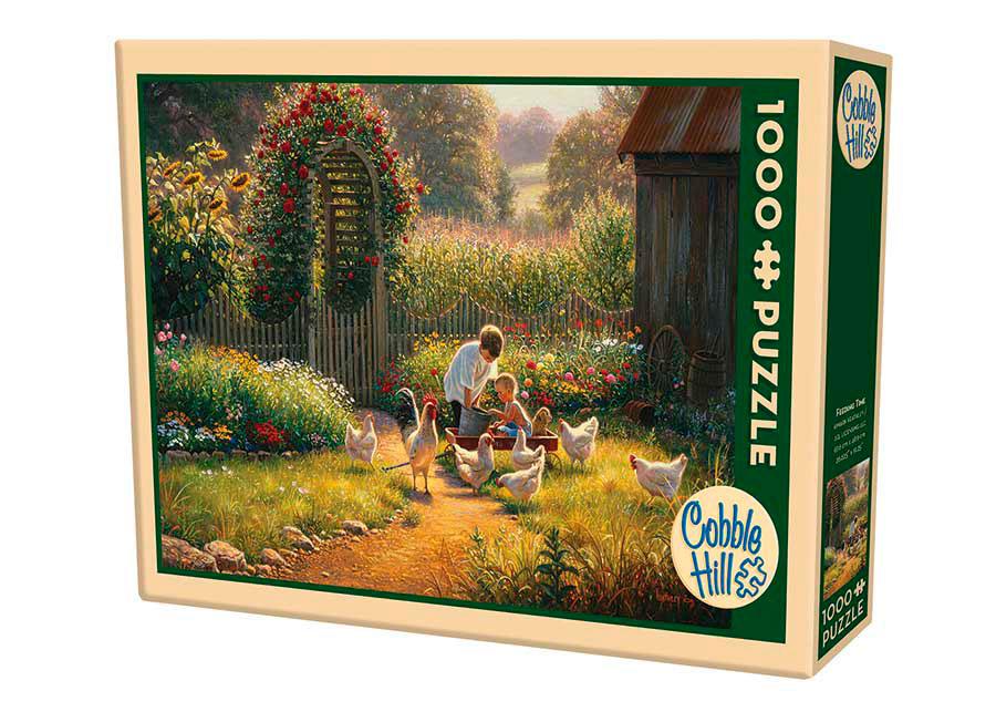 Puzzle Cobble Hill Hora de la Comida de 1000 Piezas
