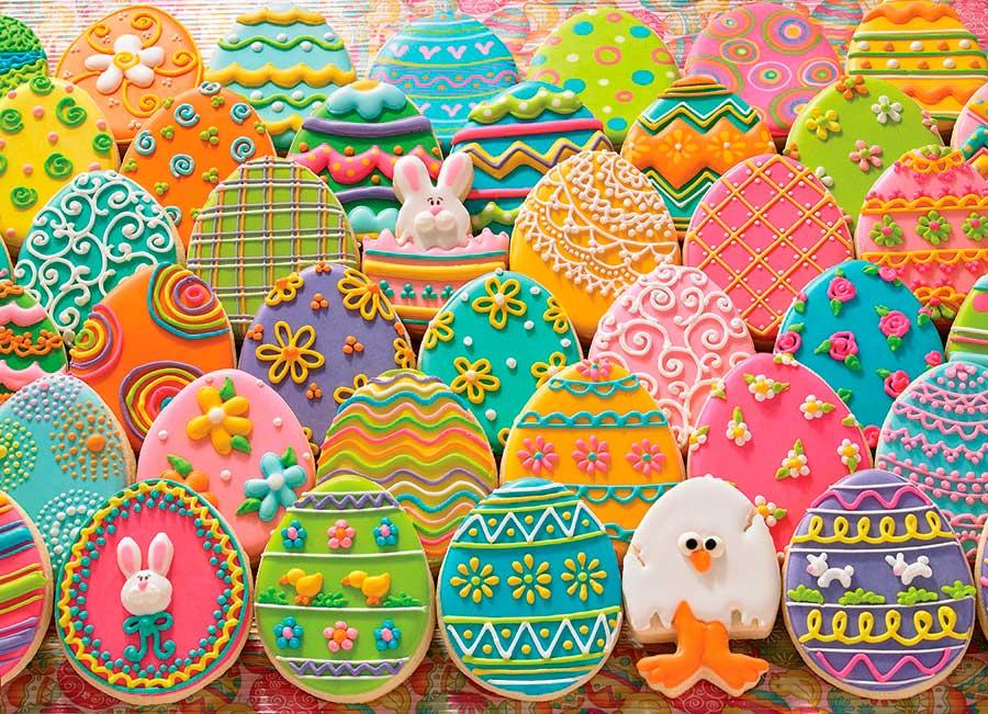 Puzzle Cobble Hill Huevos de Pascua de 1000 Piezas