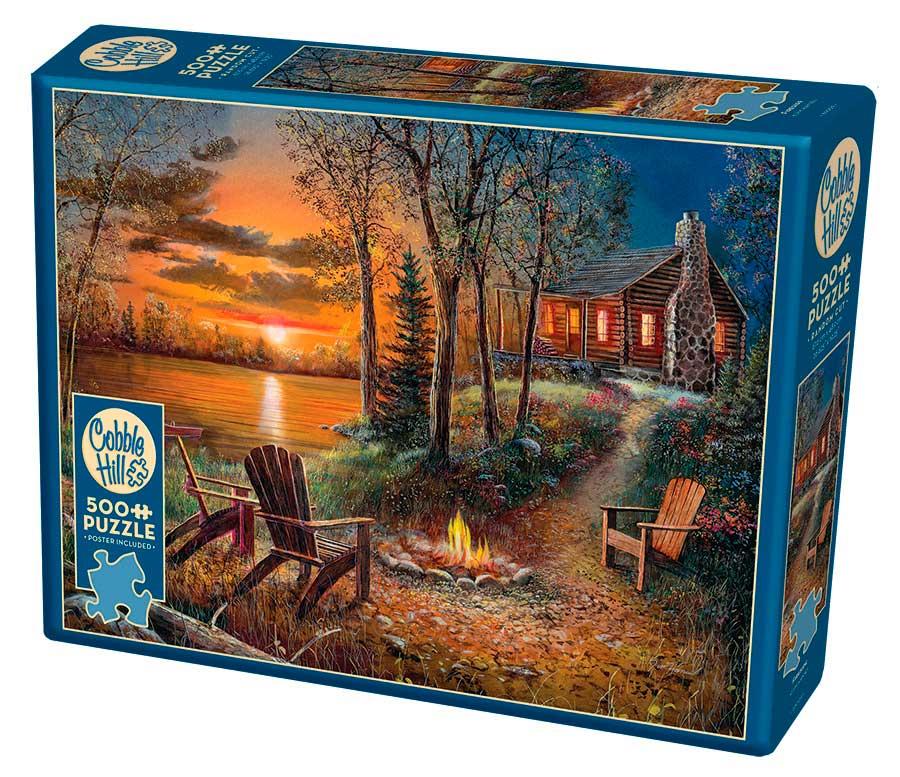 Puzzle Cobble Hill La Hoguera de 500 Piezas