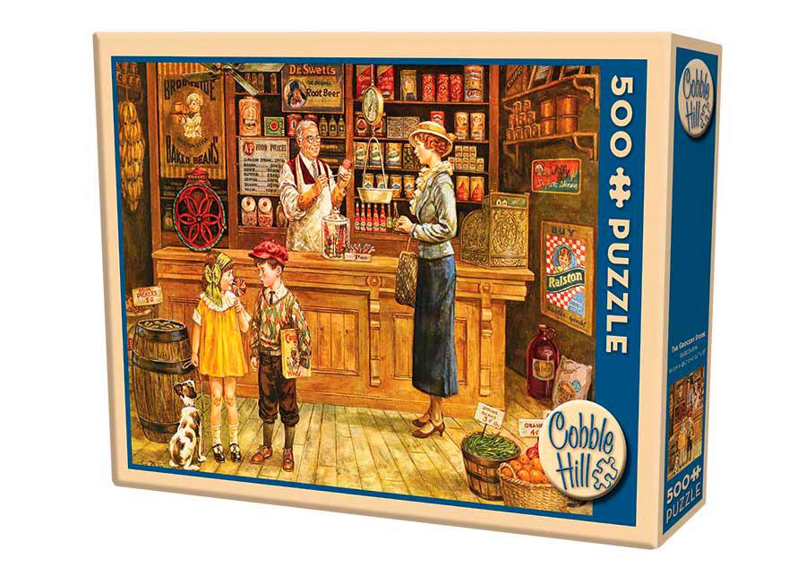 Puzzle Cobble Hill La Tienda de Comestibles de 500 Piezas