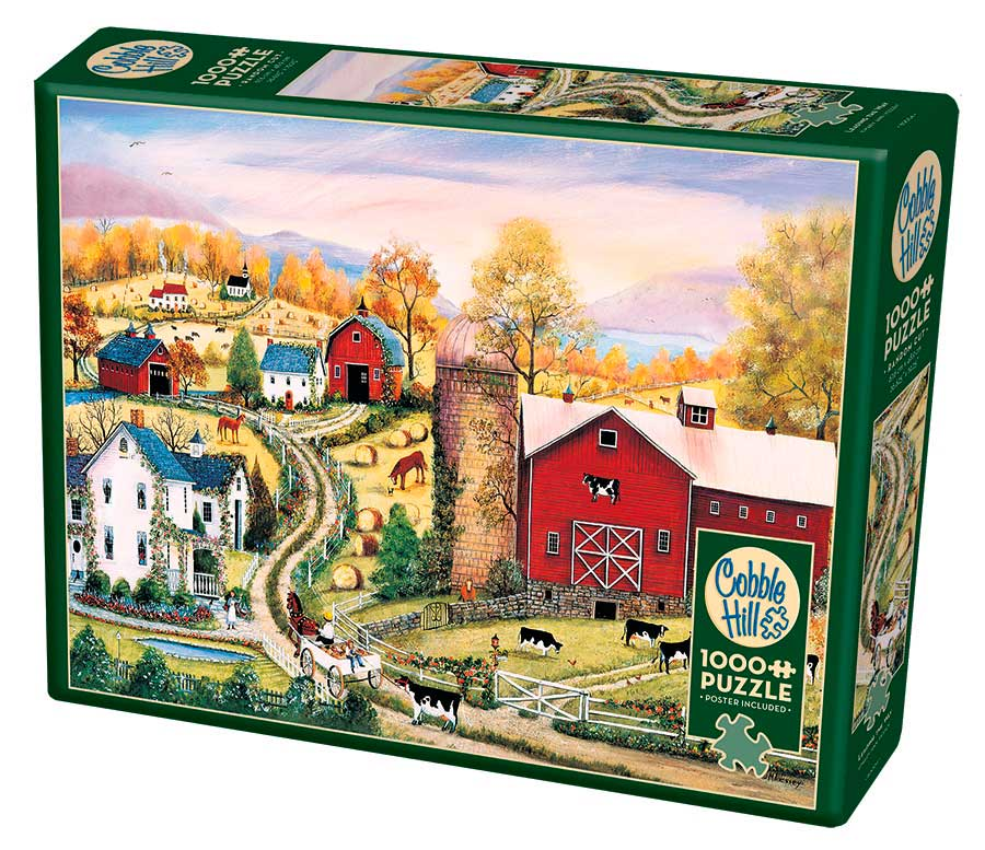 Puzzle Cobble Hill Liderando el Camino de 1000 Piezas