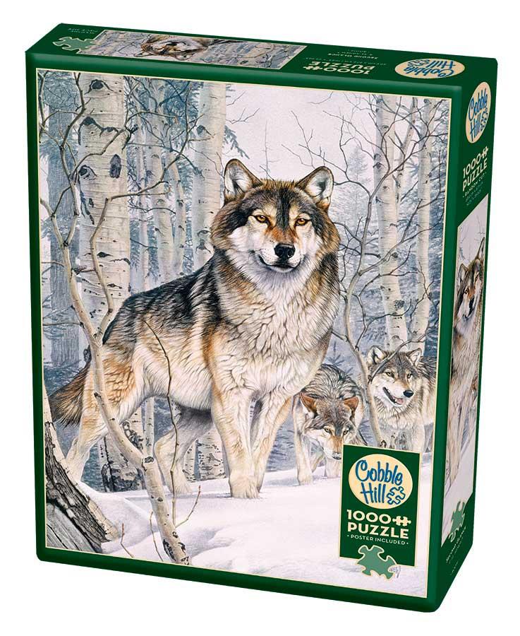 Puzzle Cobble Hill Mirada de Lobo de 1000 Piezas