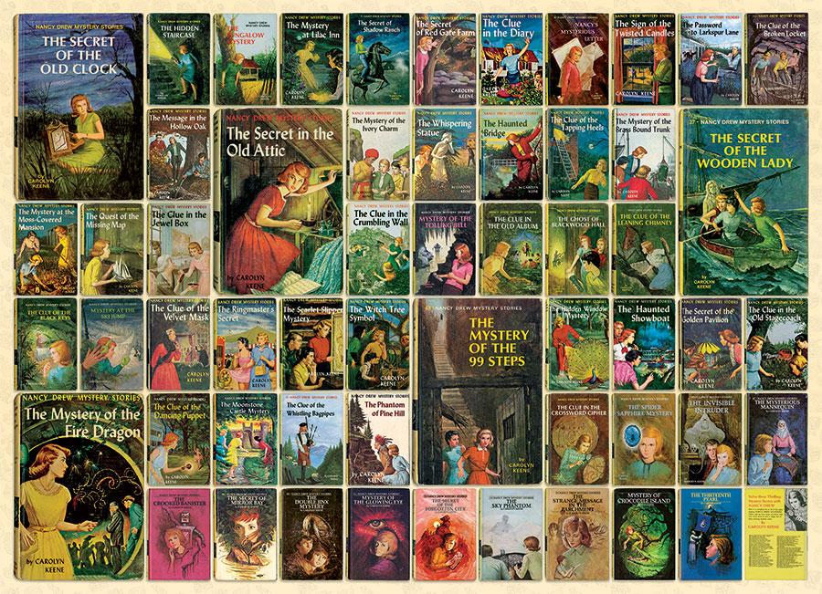 Puzzle Cobble Hill Novelas de Nancy Drew de 1000 Piezas