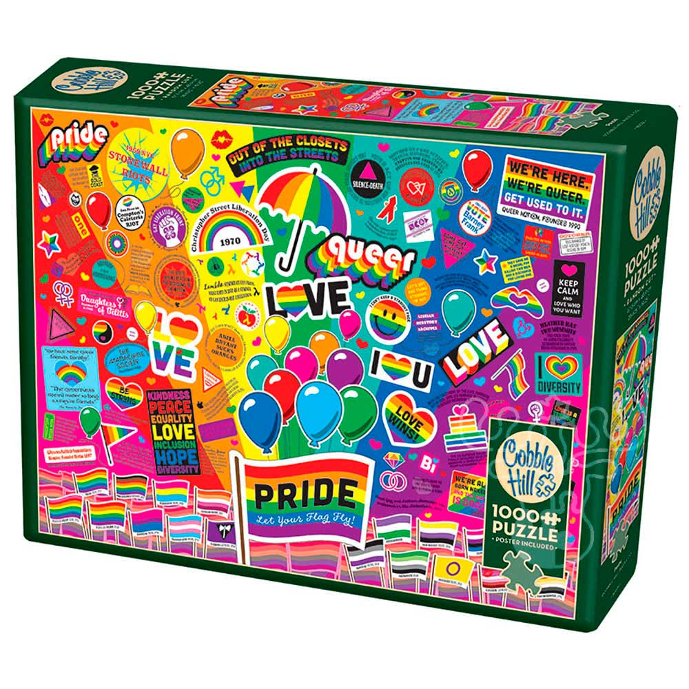 Puzzle Cobble Hill Orgullo de 1000 Piezas