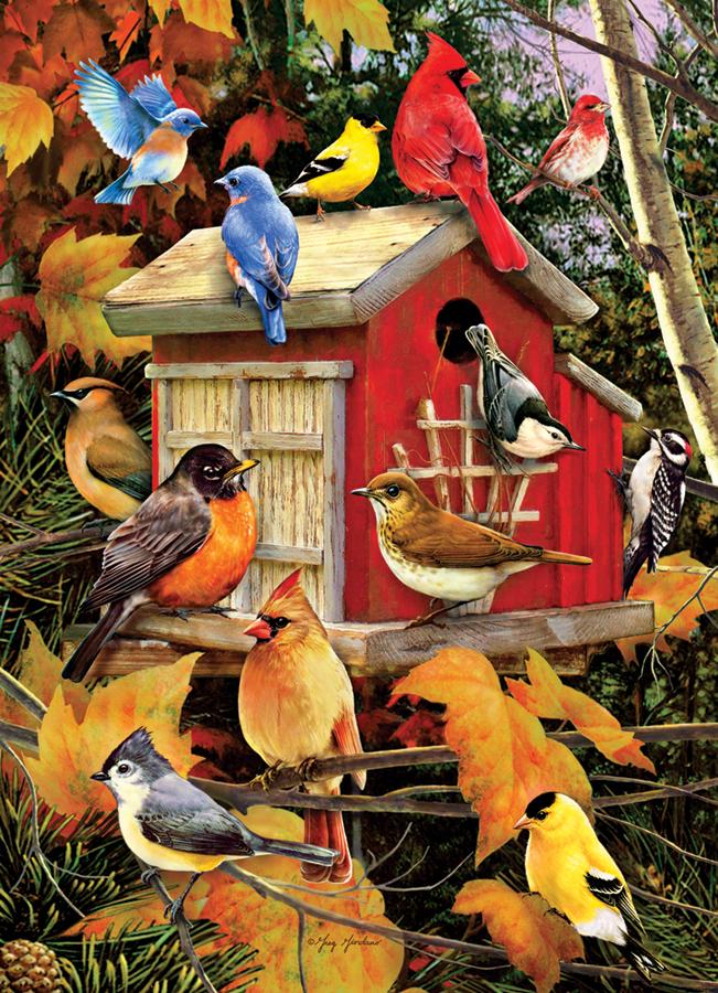 Puzzle Cobble Hill Pájaros de Otoño de 1000 Piezas