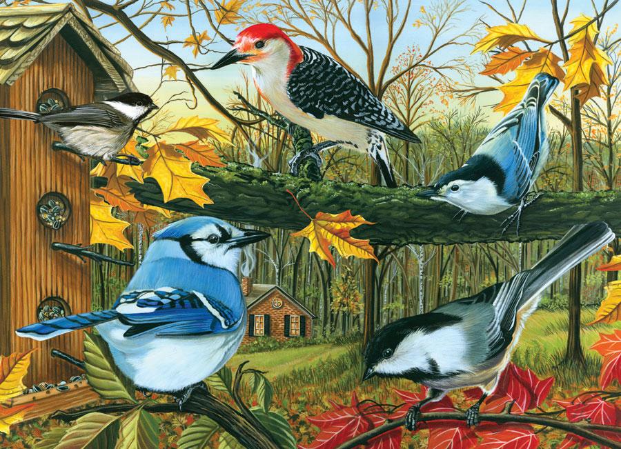 Puzzle Cobble Hill Pájaros de Primavera de 1000 Piezas