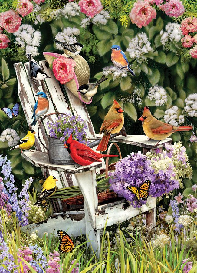 Puzzle Cobble Hill Pájaros de Verano de 1000 Piezas
