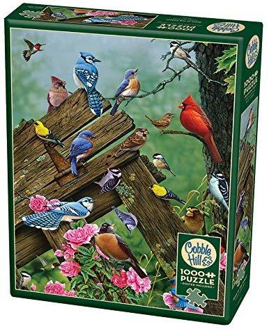 Puzzle Cobble Hill Pájaros del Bosque de 1000 Piezas