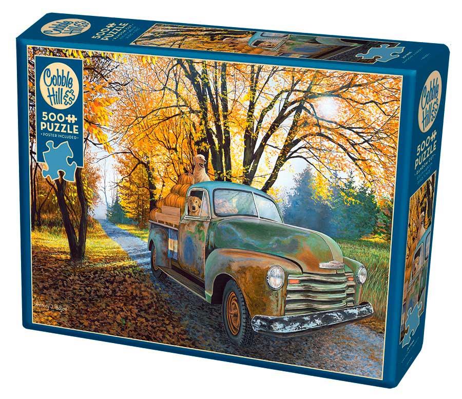 Puzzle Cobble Hill Paseo Campestre de 500 Piezas XXL
