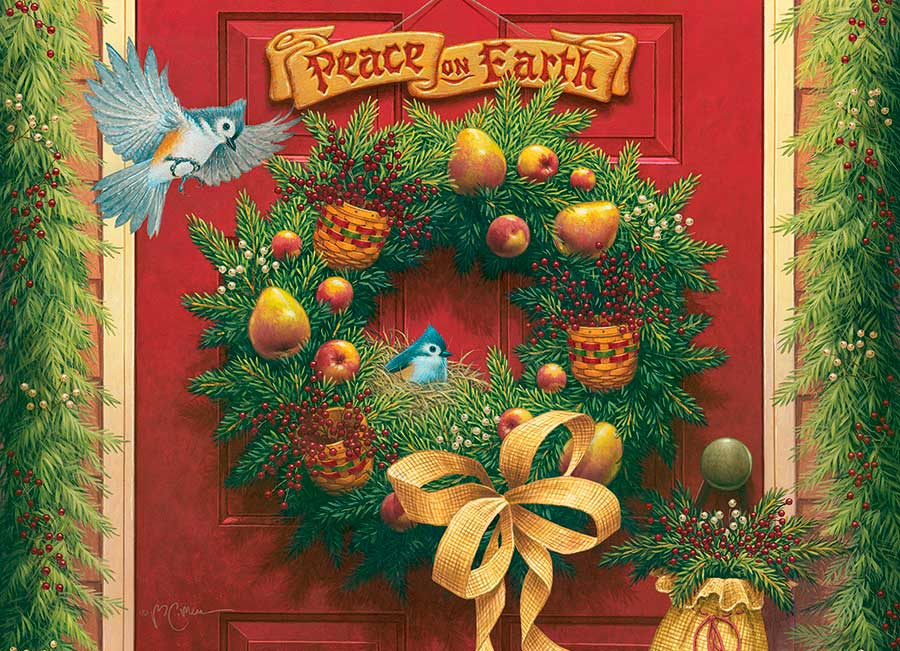 Puzzle Cobble Hill Paz en la Tierra de 1000 Piezas