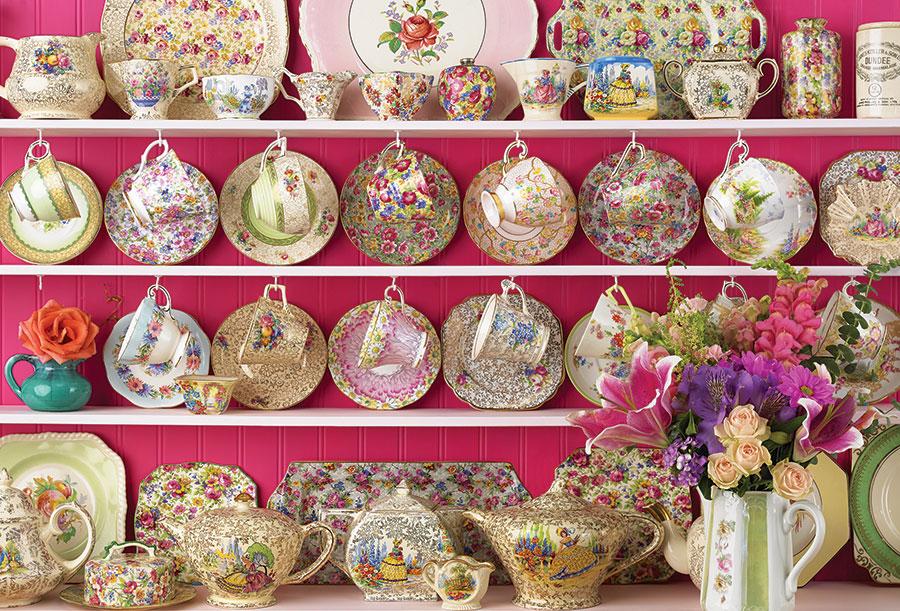 Puzzle Cobble Hill Porcelanas de la Abuela de 2000 Piezas