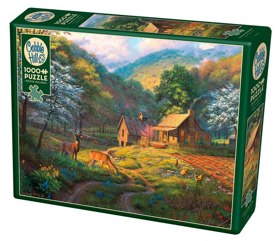 Puzzle Cobble Hill Riquezas de la Naturaleza de 1000 Piezas