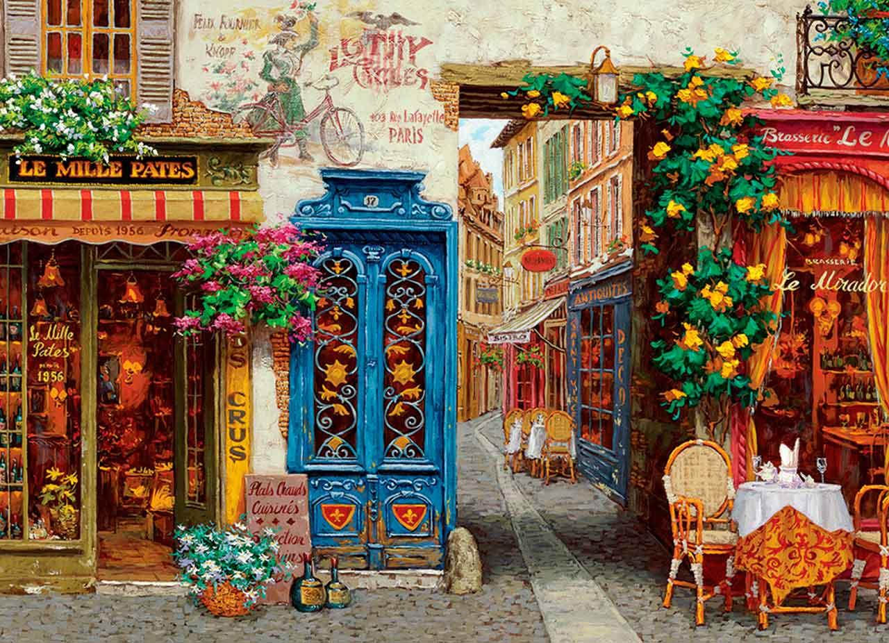 Puzzle Cobble Hill Rue Lafayette, París de 1000 Pzs