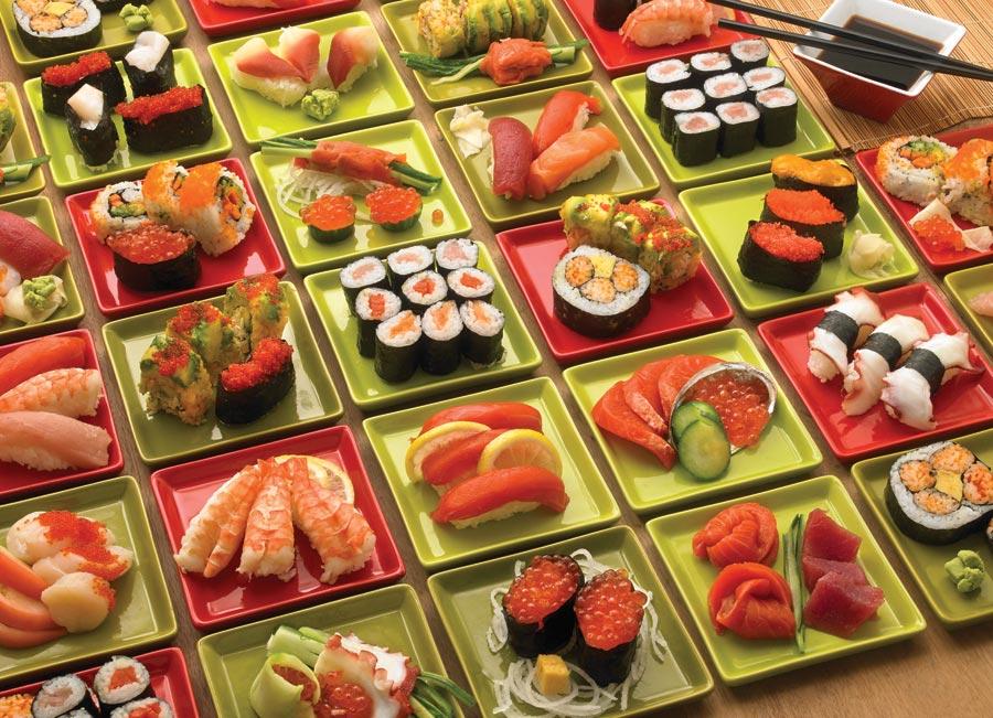 Puzzle Cobble Hill Sushi Sushi y Suchi de 1000 Piezas