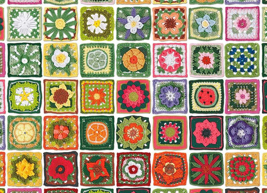 Puzzle Cobble Hill Tapetes de la Abuela de 1000 Piezas