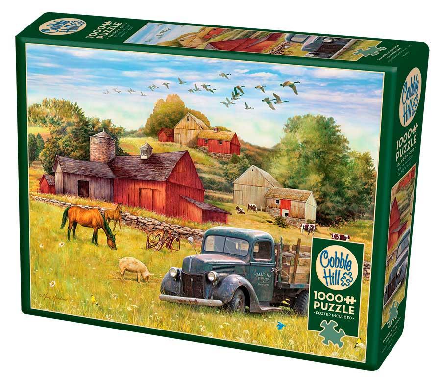 Puzzle Cobble Hill Tarde Veraniega en la Granja de 1000 Piezas