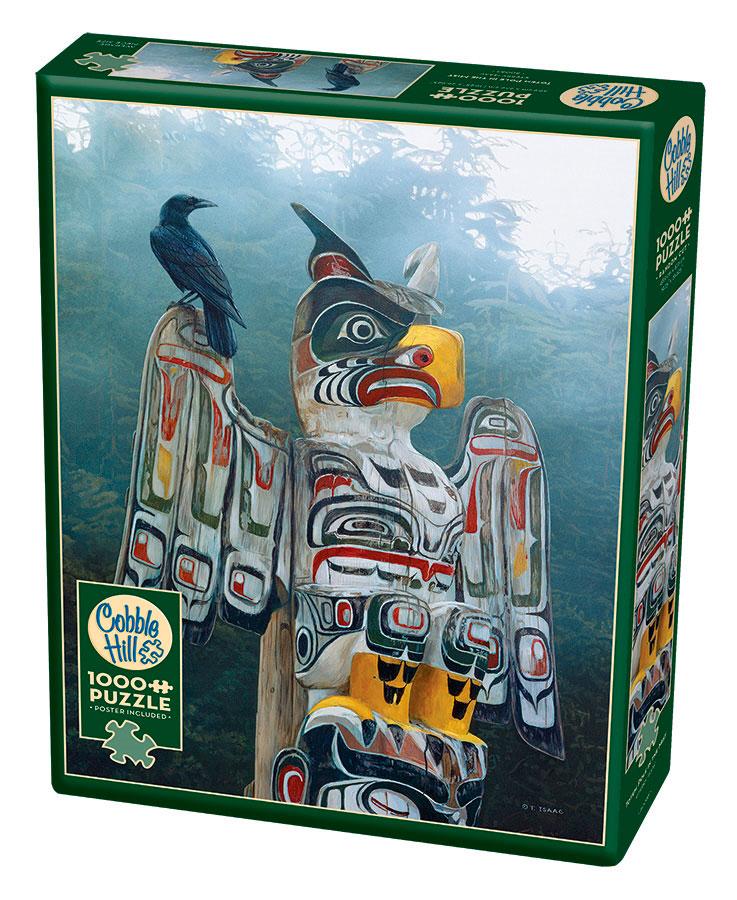 Puzzle Cobble Hill Totem en la Niebla de 1000 Piezas