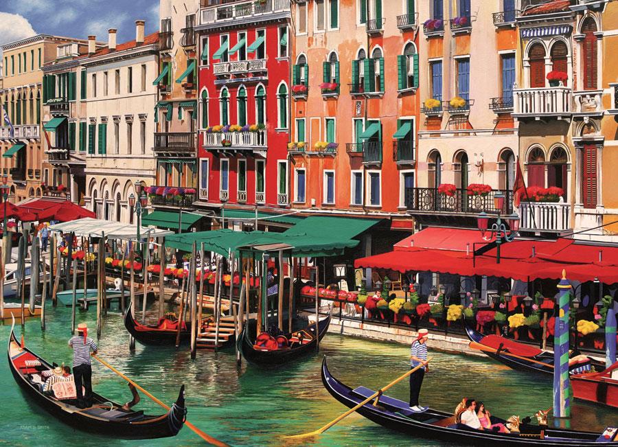Puzzle Cobble Hill Vacaciones en Venecia de 2000 Piezas