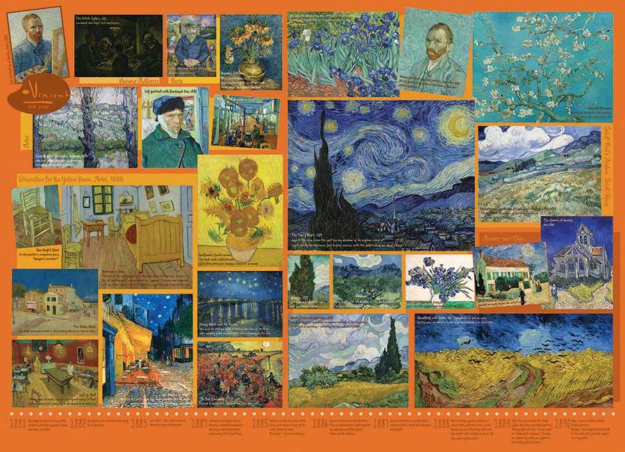 Puzzle Cobble Hill Van Gogh de 1000 Piezas