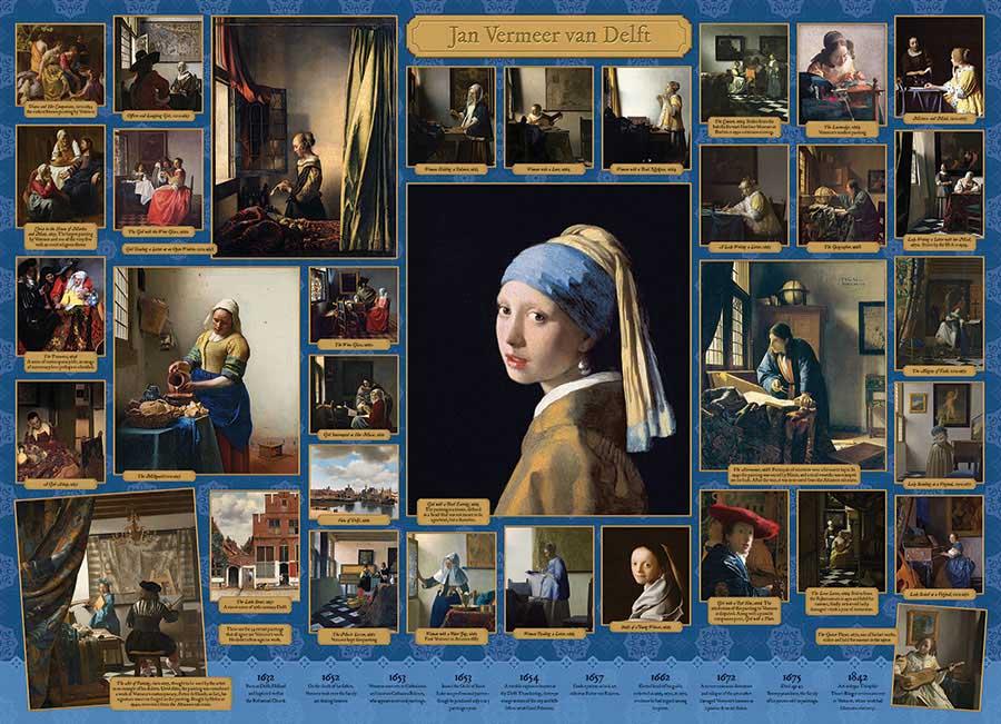 Puzzle Cobble Hill Vermeer de 1000 Piezas