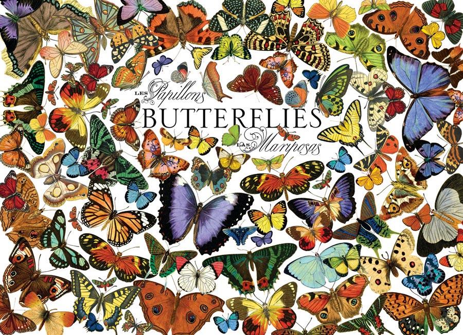 Puzzle Cobble Hill Mariposas de 1000 Piezas