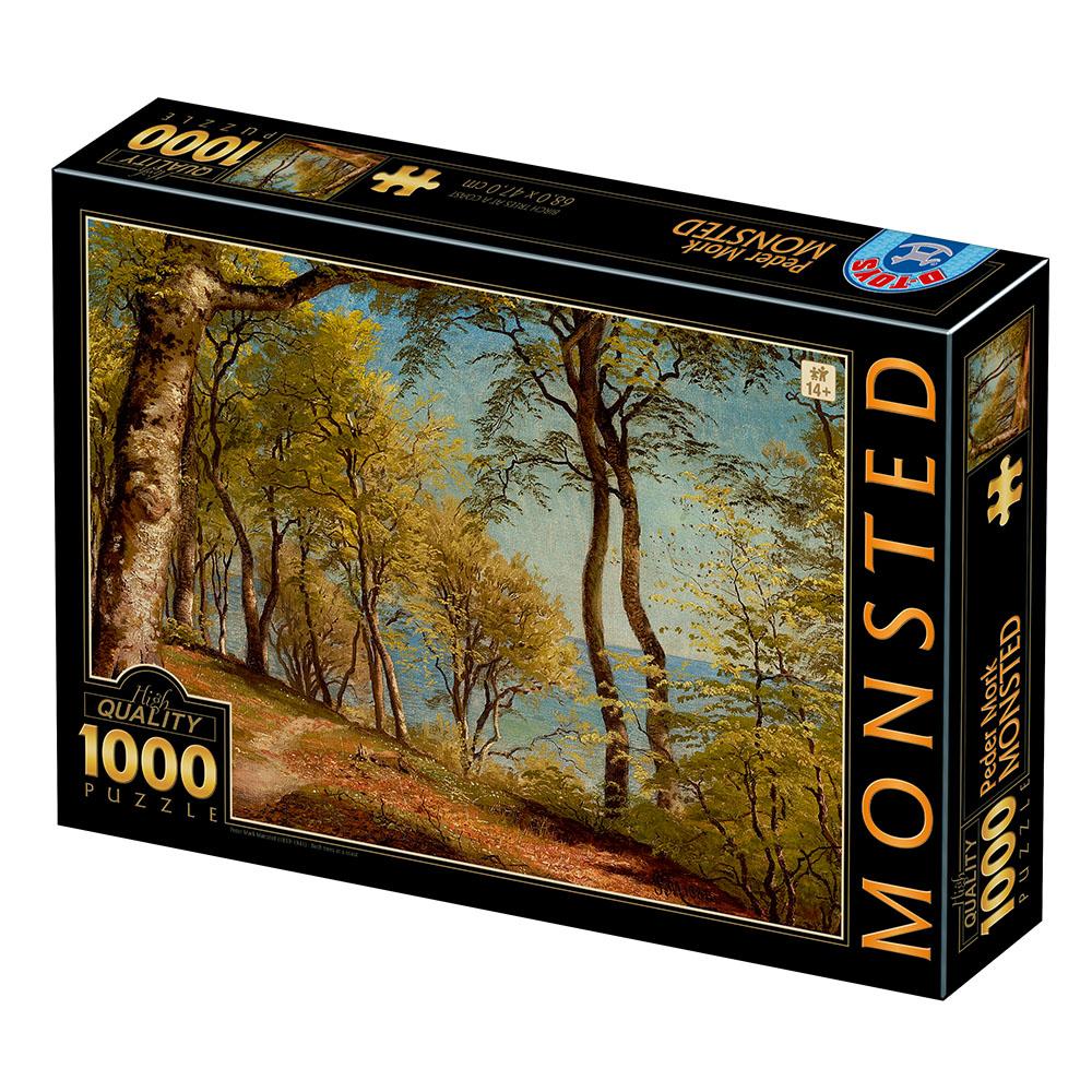 Puzzle D-Toys Abedules en una Costa de 1000 Piezas
