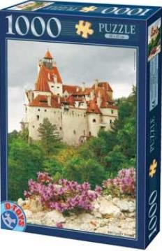 Puzzle D-Toys Amanecer en el Castillo de Bran, Rumanía de 1000 P
