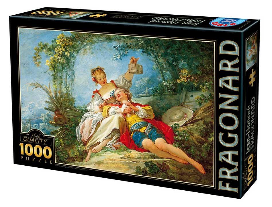 Puzzle D-Toys Amantes Felices de 1000 Piezas